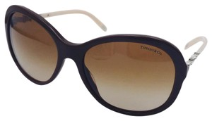 Tiffany & Co. Dazzling Tiffany & Co. Pearl Brown and Light Pink Sunglasses TF 4104