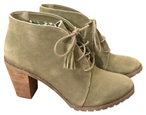 Restricted Olive Green Boots
