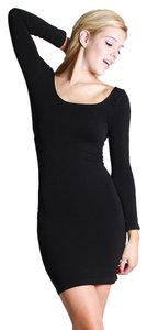 Nikibiki short dress Black Seamless Scoop Bodycon on Tradesy