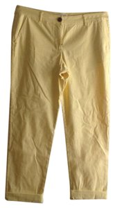 CAbi Capri/Cropped Pants yellow