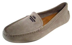 Coach Loafers Casual Comfortable Neutral Taupe Flats