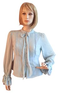 Cynthia Steffe Top light blue