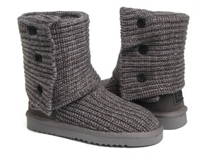 UGG Australia Classic Cardy Short Grey Boots