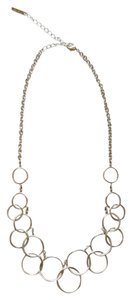 Nine West Silver Infinity Loops necklace