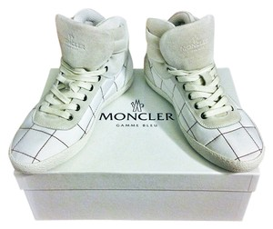 Moncler Giuseppe Zanotti White with Dark Red Stiching Athletic