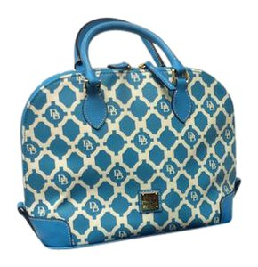 Dooney & Bourke Satchel in Turquoise