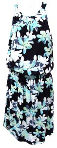 Banana Republic short dress Navy Floral Spring Summer on Tradesy