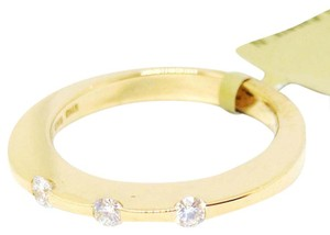 Roberto Coin Roberto Coin 18K Yellow Gold 3 Round Diamond Ring