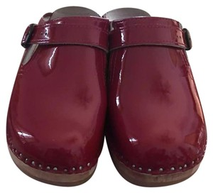Troentorp Swedish clogs Red Mules