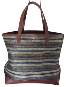 Kelsi Dagger Leather Tote in Brown