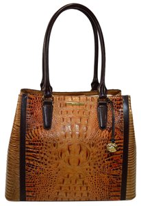 Brahmin Joan Tote in Toasted Almond Bengal