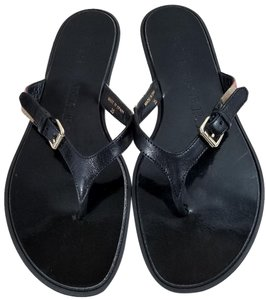 Burberry Black Sandals