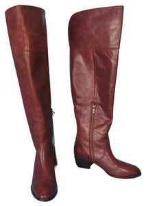 Frye Otk Extended Calf Clara Redwood Redwood Brown Boots