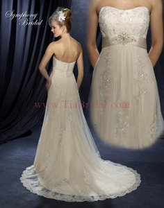 Symphony Bridal Symphony Wedding Dresses - Style S3205 Wedding Dress