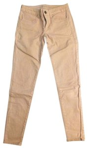 American Eagle Outfitters Coated Pink Ae Skinny Jeans-Coated