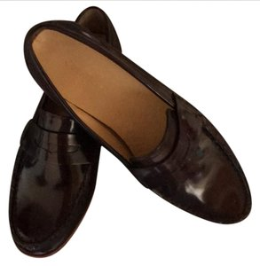 Cole Haan Leather Loafer Brown Flats