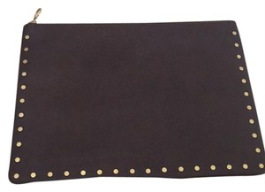Madewell J.crew Leather Pouch brown Clutch