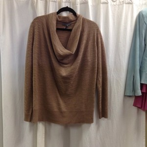Quinn Cashmere Cowl Tunic Textured Sweater