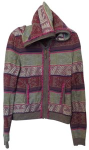 Anthropologie Moth Hoodie Medium Cardigan
