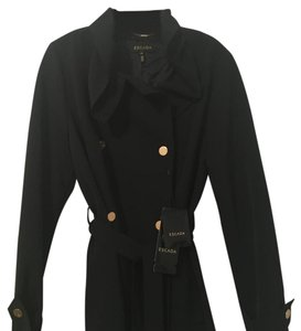 Escada Size 42 Trench Coat