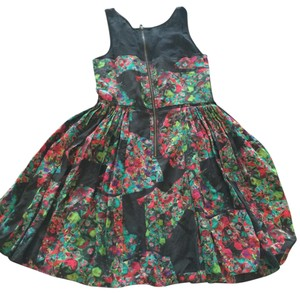 Broadway & Broome short dress multi-color Floral And on Tradesy