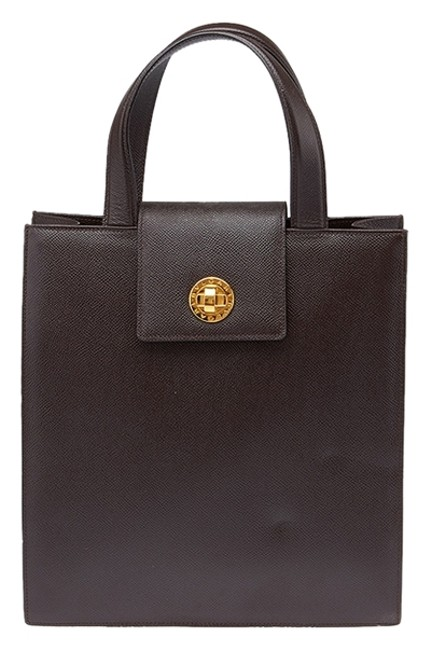 Item - (34907) Brown Leather Tote