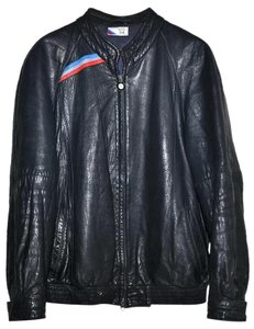 BMW Cafe Racer Leather Motorcycle Jacket