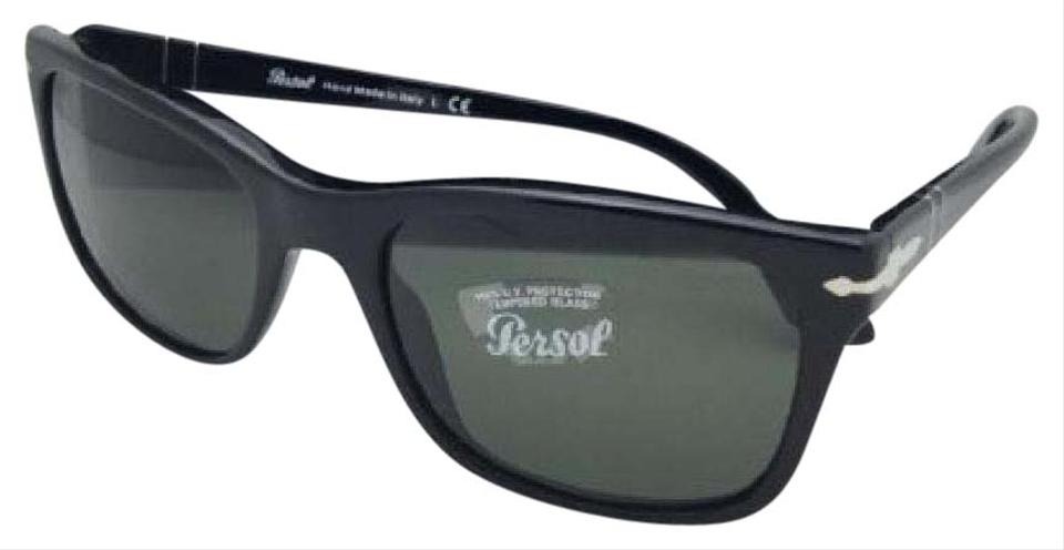 28659910c3730 Persol New PERSOL Sunglasses 3135-S 95 31 55-19 145 Black Frame ...