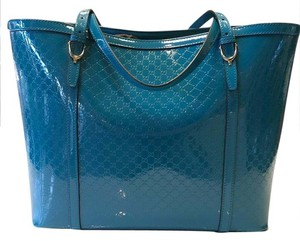 Gucci Tote in Deep Cobalt Blue