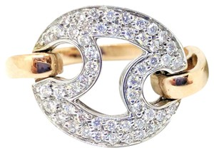 Roberto Coin Roberto Coin 18K White & Rose Gold