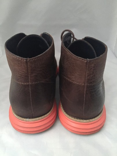 Cole Haan Lunargrand Givenchy Gucci Louis Vuitton Brown with Orange Sole Athletic