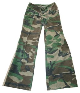 5.7.9 Flare Pants Camouflage