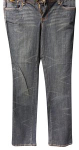 ROCA WEAR Straight Leg Jeans-Dark Rinse
