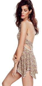 Free People Boho Backless Cut-out Dress