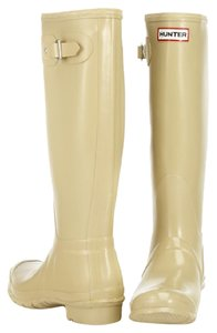 Hunter Rain Beige Boots