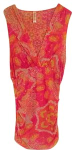 Sweet Pea by Stacy Frati Top orange pink yellow