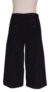 Marc by Marc Jacobs Wide Leg Culottes Cropped Pant Capris Black