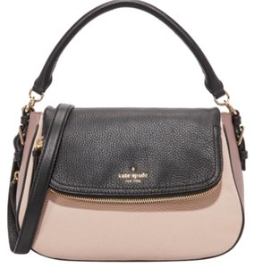 Kate Spade Satchel in Cloud/Black/ Porcini
