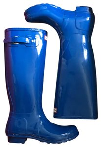Hunter cobalt Boots