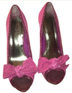 Bakers Pink Platforms