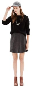 Madewell Mini Skirt heather blackbird