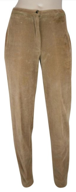 Item - Camel Brown Light Stretch Corduroy Tapered Pants Size 6 (S, 28)