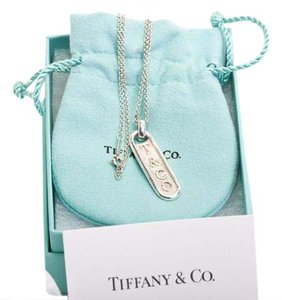 Tiffany & Co. Tiffany & Co. Bar Necklace Chain 925 Silver T