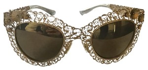 Dolce&Gabbana Dolce&Gabbana Sunglasses - Women's Gold Filigree Limited Edition