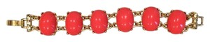 Banana Republic Timeless orange and gold bracelet