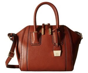Ivanka Trump Cognac Brown Trump Ivanka Leather Satchel