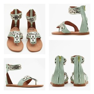 Jeffrey Campbell Mint blue Sandals