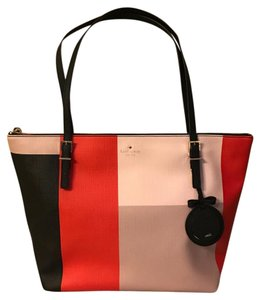 Kate Spade Tote in black, red