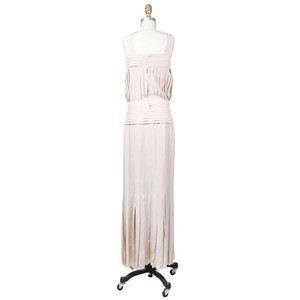 Chanel Silk Pleats Gown Dress