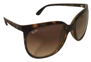Ray-Ban NEW RAY-BAN WOMENS BROWN TORTOISE CAT EYE GRADIENT SUNGLASSES RB4126